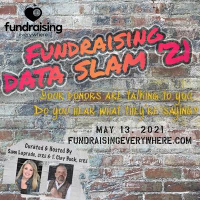 Data Slam! Marketing and Fundraising – A data match made in heaven by Safiyyah Gareeboo