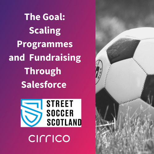 The Goal: Scaling programmes And Fundraising Through Salesforce