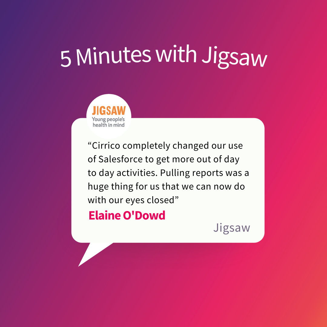 Jigsaw –  Saving time and Increasing Fundraising Impacts Through Salesforce